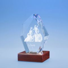 Just Because Prestige Crystal, 3D Engraved